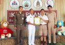 นักเรียนชมรมต้นกล้าอันดามัน ได้รับรางวัลผู้นำเยาวชน